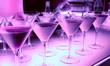 Leinwandbild Motiv Welcome drink in a night club