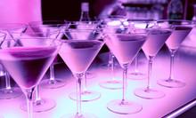"""Постер, картина, фотообои """"Welcome drink in a night club"""""""