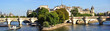 "France, Paris: panoramic view ""ile de la cite"""
