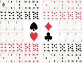 Playing cards full deck