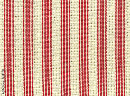 Background from a natural fabric in a strip