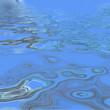 hydrocarbures à la surface de l'eau