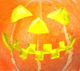 scary old jack-o-lantern... poster