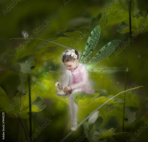 Leinwanddruck Bild Little fairy