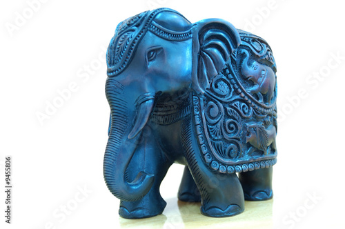 Handmade statue of elephant