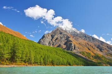 Lake in Altai Mountains