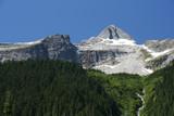 landscape in British Columbia. Glacier National Park. poster
