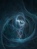 Abstract fractal background. Graphics. Cosmic clouds texture. poster