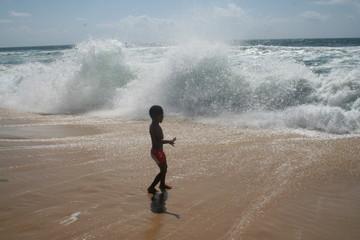 l'enfant et l'océan