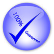 """100% Guarantee"" logo"