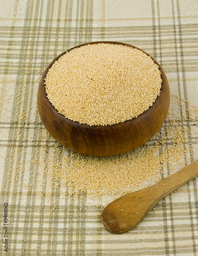 Amaranth, a gluten-free high protein grain cereal.