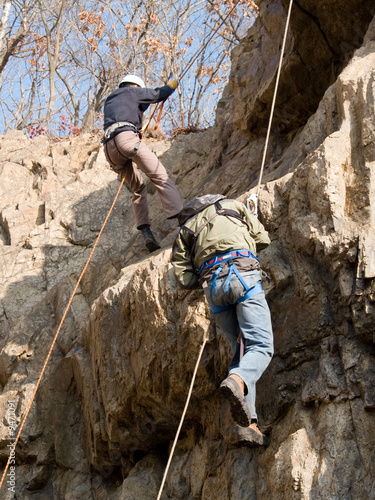 mountaineering climbing competition