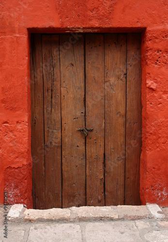 image of old ancient door