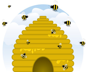 """""""Buzzy"""" Beehive"""
