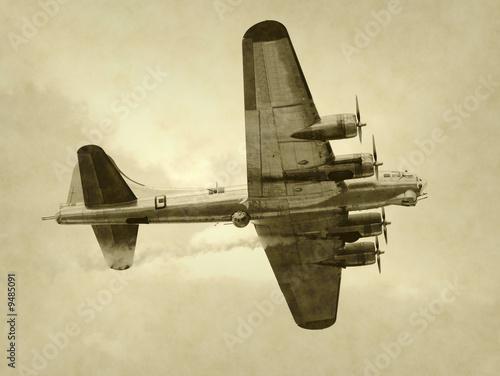 World War II era American bomber