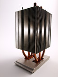 CPU Heat Sink front view poster