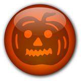 Halloween Button : Ugly Pumpkin poster
