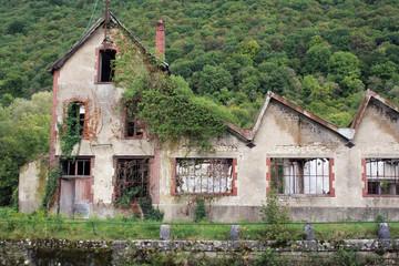 Papeterie abandonnée