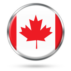 Canada Icon button series easy to extract