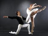 Naklejka Ballet dancers