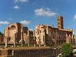 rom, die ewige stadt, tempel der venus und der roma