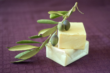 hand made olive oil soap
