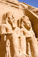 The Great Temple of Abu Simbell, Egypt