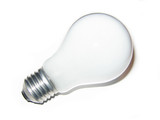 White light bulb
