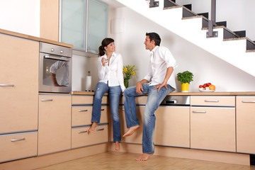 Gespräch in der Küche