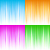Abstract gradient backgrounds poster
