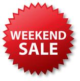 Sale Sticker - Weekend Sale poster