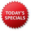 Sale Sticker - Today's Specials