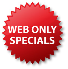 Sale Stickers - Web Only Specials