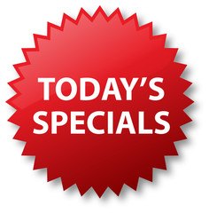 Sale Sticker - Today's Specials