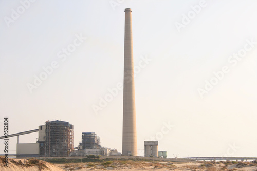 power station -chimney