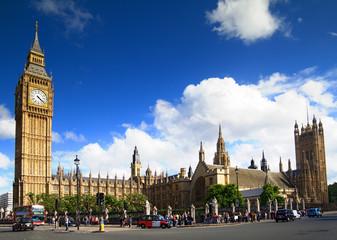Big Ben, Westminster Palace, London.