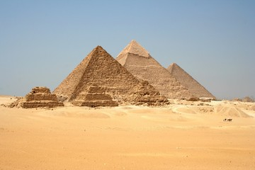 Pyramides de Gizeh, Egypte_Pyramids Giza, Egipt