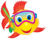 Fish diver-