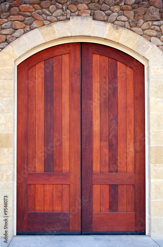 Door at a winery