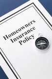 Document of Homeowners Insurance Policy for background poster