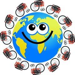 disabled globe