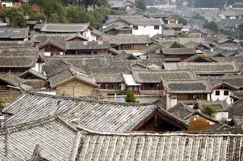 China, Lijiang city, Yunnan province. UNESCO World Heritage