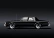 Schwarze Limousine