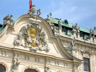 façade du palais du haut-belvedere