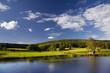 idyllische Landschaft in Thüringen