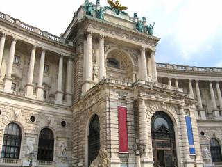 façade de la Hofburg (Vienne)