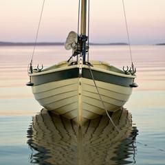 Classic boat at Dusk