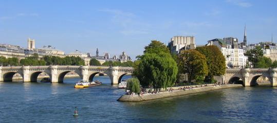 pointe de l'ile de la cité (paris)