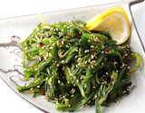 Japan Salad from Seaweed with Sesame poster