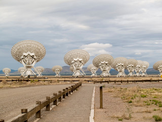 VLA, Very Large Array, Radio telescope antennas